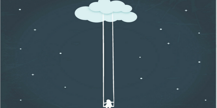 Girl Swinging On A Cloud.png